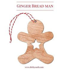 Pepparkak - Ginger bread man. Very popular in Sweden around Christmas. This one although you might want to... you can't eat. Will be available @scandinavianfestival  this Sunsay the 13th of Sep. #gingerbreadman #gingerbread #christmastreats #christmastreedecorations #scandinavian #nordicdesign #scandinavianchristmas #woodenchristmasdecorations #christmasdecorations #visitbrisbane #dirtbyearth