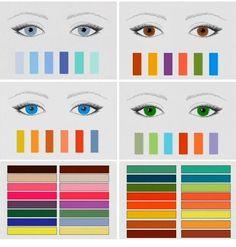 Scegli i colori adatti ai tuoi occhi