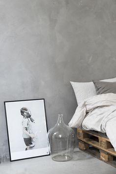 Diy projekt säng med lastpallar / DIY make a bed with pallets