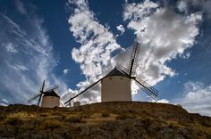 Windmils in Consuegra, Spain. by Ricardo González Gascón on 500px