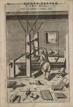 Torchio per stampar i libri by peacay, via Flickr
