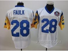 http://www.xjersey.com/new-arrival-nfl-st-louis-rams-28-faulk-whitehall-of-fame.html NEW ARRIVAL NFL ST LOUIS RAMS #28 FAULK WHITE[HALL OF FAME] Only $34.00 , Free Shipping!