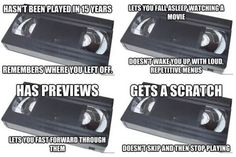 Good ole VHS