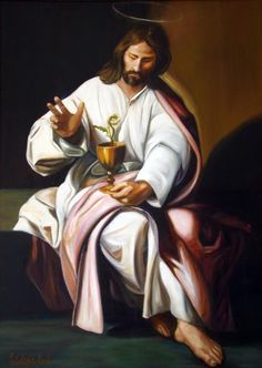 Saint John the Evangelist is also known as Saint John the Apostle and the Beloved Disciple. He is one of the sons of Zebedee and Salome.
