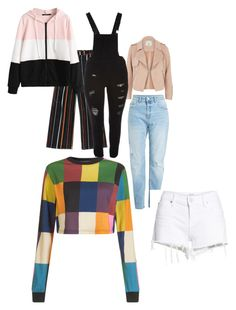 """Mixed clothes"" by antobiscuit on Polyvore featuring River Island, House of Holland, Dollhouse, Hudson Jeans and plus size clothing"