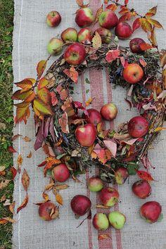 Harvest wreath.