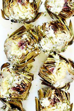 Garlic Butter Artichokes