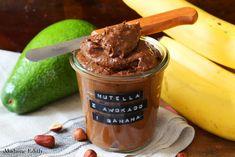 Nutella z awokado i banana - Madame Edith Nutella, Baking Ingredients, Cookie Dough, Menu, Ice Cream, Banana, Cookies, Diet, Menu Board Design