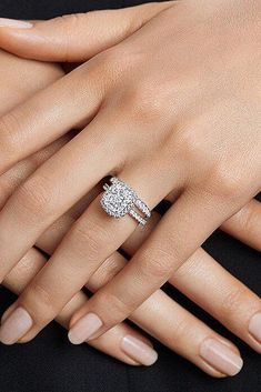 12 Engagement Ring Designers You Must See ❤️ engagement ring designers white gold halo diamond wedding set ❤️ See more: http://www.weddingforward.com/engagement-ring-designers/ #weddingforward #wedding #bride #engagementrings