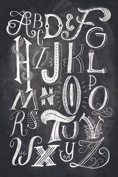 ShaunaLynn_Lettering_01 / chalkboard