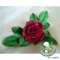 Розочка из сахарной мастики  make this rose illustrated