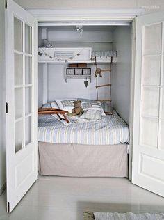 Ideas para una habitación en una minicasa