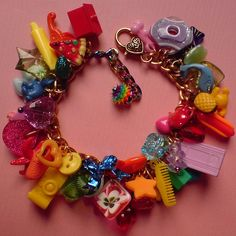 I miss those plastic charm things from the 80's :-( charm-ing