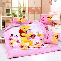 Winnie The Pooh Pink Disney Bedding Sets