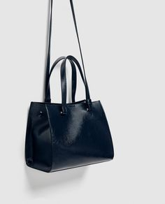 Image 1 of CITY BAG WITH SIDE BUTTONS from Zara