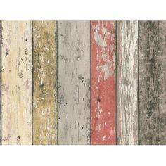 A.S. Creation Vliestapete New England Holz Rot-Braun -*** Photohintergrund:-) ***