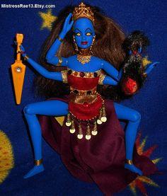 Barbie as Goddess Kali