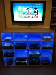 multiple game console storage - Google Search