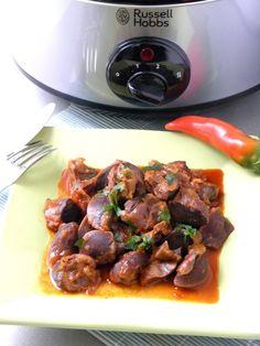 Kacsazúzapörkölt Beef, Food, Diet, Red Peppers, Meat, Essen, Meals, Yemek, Eten
