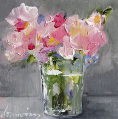 "ONLINE WORKSHOP | ""Abstract Florals"" - REGISTRATION OPENS MARCH 2, 201 