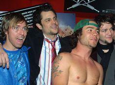 Dave England, Johnny Knoxville, Chris Pontius, Bam Margera