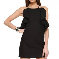 Summer Sweet Spaghetti Strip Flouncing Backless Bodycon Dress | Herefind.it