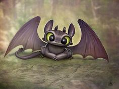 Hi there! I'm toothless! :)