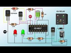 HOW TO MAKE REMOTE SWITCH PART 2 In this video I have made a remote relay switch which can be used to control lights or any home appliance( wireless )with an. Electronics Mini Projects, Electronic Circuit Projects, Electrical Projects, Electronic Items, Diy Electronics, Arduino Projects, Electronic Devices, Engineering Technology, Electronic Engineering