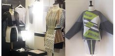 Designs by Morgan Dannet and Lucas Bauer, students at Ecole de La Chambre Syndicale de la #Couture Parisienne // Créations par Morgan Dannet et Lucas Bauer, deux étudiants à l'ecole qui s'appelle La Chambre #Syndicale de la Couture Parisienne #paris #designers