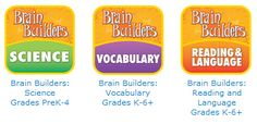 FREE Brain Builders Interactive Game – Vocabulary, Science, OR Reading