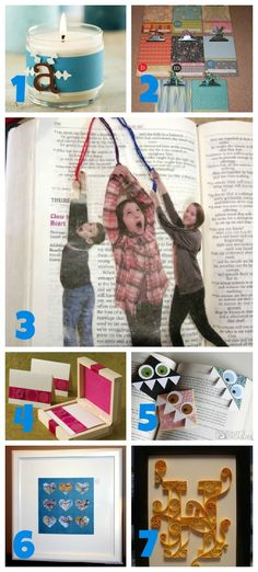 {gifts} paper craft christmas gift ideas, maybe for daycare providers?