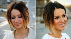 balayage-ombre-blond-caramel-brun-cheveux-courts-carré-plongeant