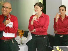 staff - Bourbon tasting at lineup