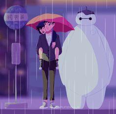 Hiro and Tadashi Hamada. Words cannot explain how much I love this