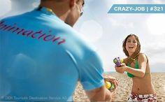 CRAZY-JOB #321   Entertainment-Talente (m/w) Dich begeistern andere Länder, Sport, Fitness, Kinder, Shows oder Unterhaltungsprogramme? Entschwinde dem grauen Alltag und werde Animateur an den schönsten Orten der Erde. Spaß und verrückte Erlebnisse garantiert! LIKED unsere Facebook Seite  >> https://www.facebook.com/crazyjobsde/ << Hier gehts zum Job die Welt zu bespaßen:  http://www.crazy-jobs.de/crazy-jo…/entertainment-talente-mw/ Übrigens: Unsere Stellenanzeigen sind ALLE ECHT und keine