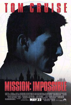 """Mission: Impossible"" (1996)  Regia di Brian De Palma"
