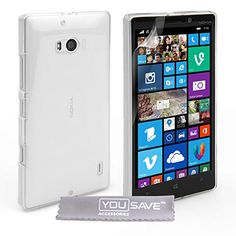 Yousave Accessories Nokia Lumia 930 Case Crystal Clear Hard Cover Yousave Accessories http://www.amazon.com/dp/B00M6YMC9K/ref=cm_sw_r_pi_dp_o2eCvb0MWPWBB