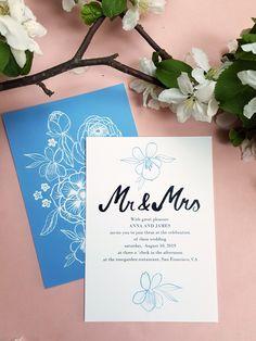 Floral wedding invitation set / Editable & Printable / available in my Etsy Shop ♥ Floral Wedding Invitations, Wedding Invitation Templates, Digital Prints, Printables, Etsy Shop, Unique Jewelry, Handmade Gifts, Fingerprints, Kid Craft Gifts