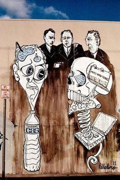 https://flic.kr/p/tUqjb3   Street art by Palladino