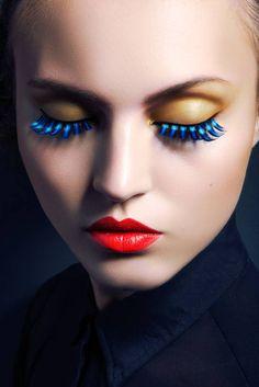 Lofty Lashes: Paloma Passos by Jeff Tse in Beauty Shoot