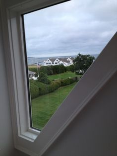 View of Compound from atop JFK 's home in Cod MA. Kennedy Compound, Hyannis Port, Los Kennedy, John Junior, John Fitzgerald, Jfk, Cape Cod, Presidents, Royalty