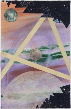 HONOLULU WATERCOLOR, 1991. Watercolor on paper, 31 x 30in., Billy Al Bengston