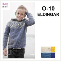 O-10 ELDINGAR - Garnmani.no - Spesialist på islandsk garn Royals, Sweatshirts, Sweaters, Design, Fashion, Threading, Royalty, Moda, La Mode