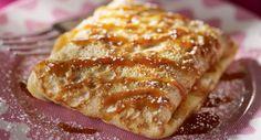 Crêpe au chocolat et caramel au beurre saléAttention tuerie avec cette recette de crêpe au chocolat et caramel au beurre salé