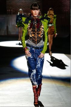 Dsquared2 S/S 2017  Milan Fashion Week denimsandjeans.com