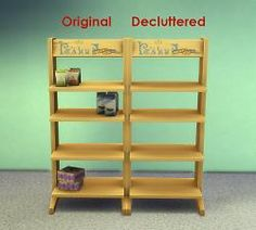 Mod The Sims - Decluttered Tower of Treats Display Shelves