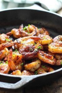 Honey Garlic Shrimp Skillet - The Cooking Jar