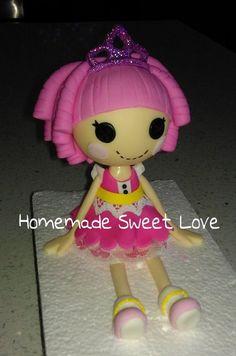 Fondant Lalaloopsy doll