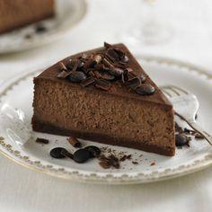 Mocha Rum cheesecake