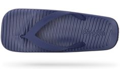 The Yoko is a classic flip-flop with a twist and features a contoured SkyLite™ EVA footbed, a TPU strap, and a unique square design. Yoko, Spring Summer 2016, Ss16, Marines, Flip Flops, Footwear, Sandals, Classic, Blue